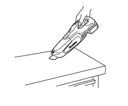 マキタコードレス掃除機CL142紙パック式標準40分稼働/充電22分軽量ハイパワーモデル14.4Vバッテリ充電器付CL142FDRFW