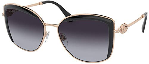 Bvlgari Bv6128b, Gafas De Sol Mujer, Pink Gold/black (20148G)