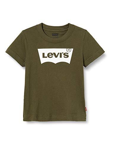 Levis Kids Lvb Batwing Tee T-shirt garçons Vert (Olive Night), 5 ans