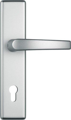 ABUS KLT512 F1 EK 247903 - Blindaje para cerraduras de portal (aluminio, para puertas de izquierda y derecha)