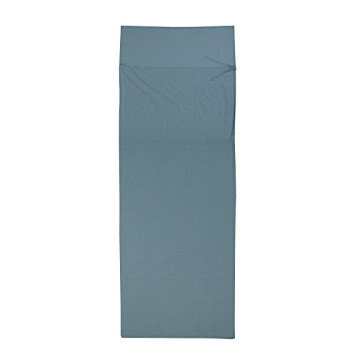 10T Schlafsack BW INLET RB Hüttenschlafsack 225x80 cm Deckenschlafsack Inlay 100% Baumwolle Blau