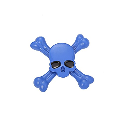 Starss Skull Fidget Spinner with Ultra Stainless Steel Bearing 3-5Min Spins Time Quality Stress Reducer Toy for ADHD Toy for Kids