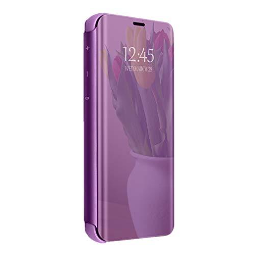 Case für Huawei P30 Pro Hülle Spiegel Case Flip Schutzhülle Tasche Handyhülle Handy UltraDünn Standfunktion Anti-Scratch Schutz Bumper Stoßfeste case für Huawei P30 Pro