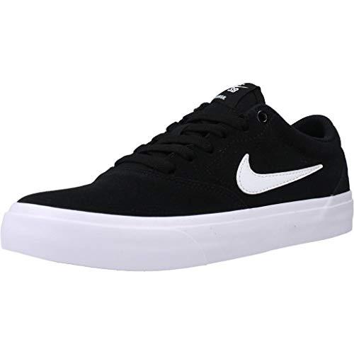 Nike SB Charge Größe 39 EU Schwarz (Black/White-Black)