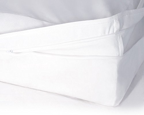 Softsan Protect Plus Matratzenbezug milbendicht 90x200x25 cm, Höhe 25 cm, Encasing, Milbenschutz für Hausstauballergiker milbenkotdicht