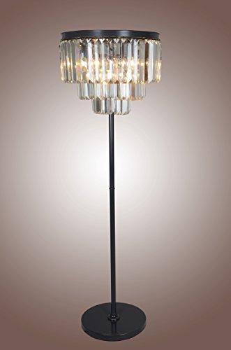 Crystal Floor Lamp 1920S Odeom Clea…