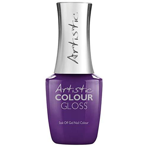 Artistic Colour Gloss Sofly 2019 - Gel de uñas (15 ml), color violeta
