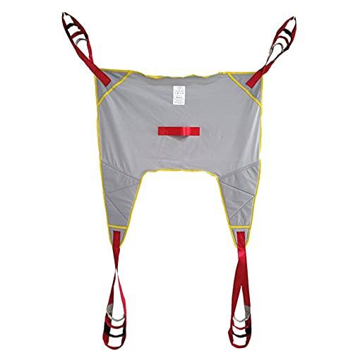Arnés De Elevación De Paciente De Cuerpo Completo, Cinturón de Transferencia Paciente Cinturón De Transferencia con Ajustable Altura para Posicionamiento Y Elevación De La Cama, Enfermería