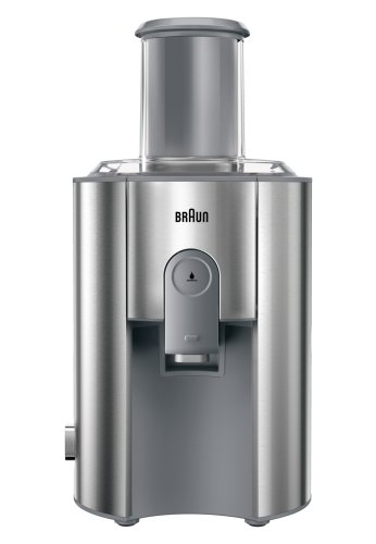 Braun J700 Multiquick Juicer Centrifugeuse, Extracteur de jus, 1000 W, Gris