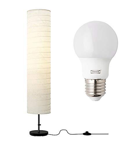 IKEA, Stehlampe, HOLMÖ (Lampe + Leuchtmittel-Set)
