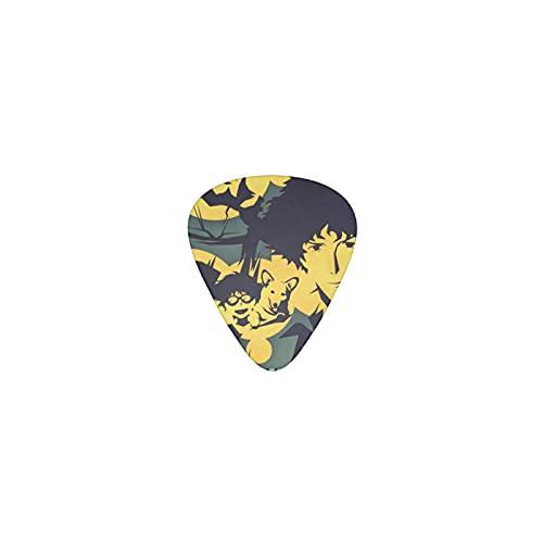 Cowboy Bebop Púas de guitarra Triángulo clásico Púas de guitarra patrón novedoso Púas de guitarra El regalo perfecto para guitarras acústicas y eléctricas