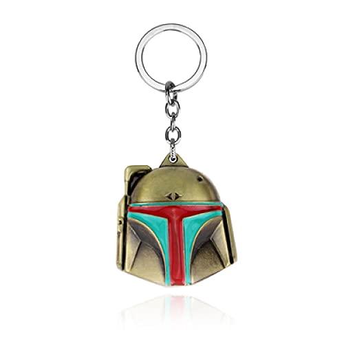 Star Wars schwarzer Samurai Schlüsselanhänger kreativer Auto Schlüsselanhänger Rucksack Handy Schlüsselanhänger Geschenk