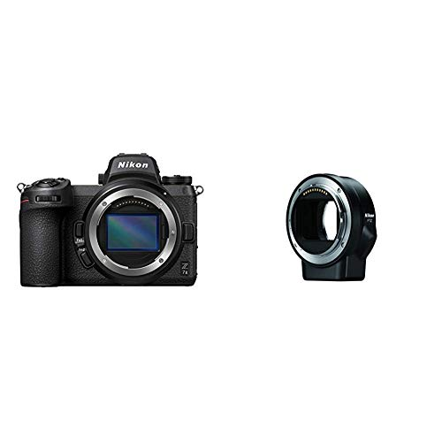 Nikon Z 7II FX-Format Mirrorless Camera Body with Nikon Mount Adapter FTZ