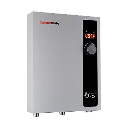 Tankless Water Heater Electric 11kW 240 Volt, thermomate On Demand Instant...