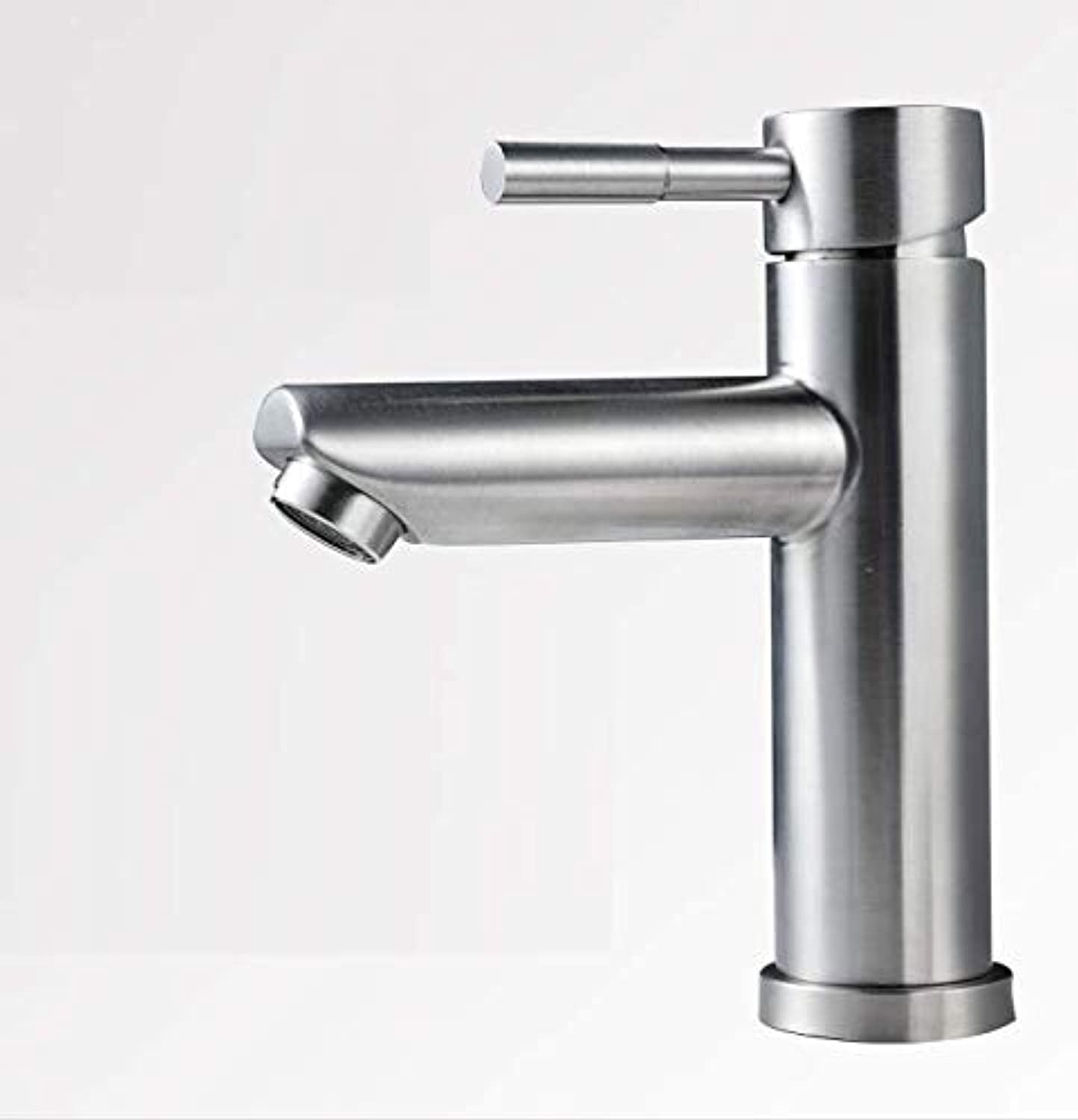 Bathroom Faucet hot and Cold Single Handle Single Hole Bathroom wash Basin Basin Faucet wash Basin Sink Faucet Home