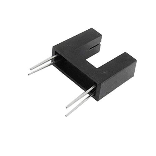 X-Dr 10 Stück 5/16' 'Abstand 4 Pins Schlitz optischer Schalter Sensor HY860H-A (75ef2938866229b31c27e81478d8e3bc)