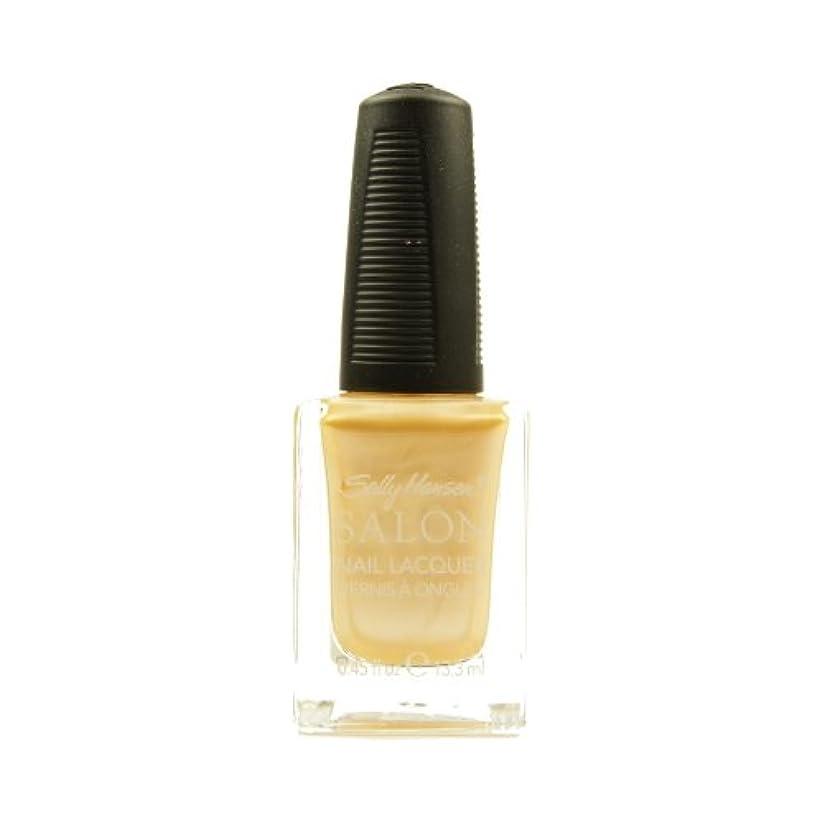 不規則なショートカットカブ(6 Pack) SALLY HANSEN Salon Nail Lacquer 4134 - Fizz It Is (並行輸入品)