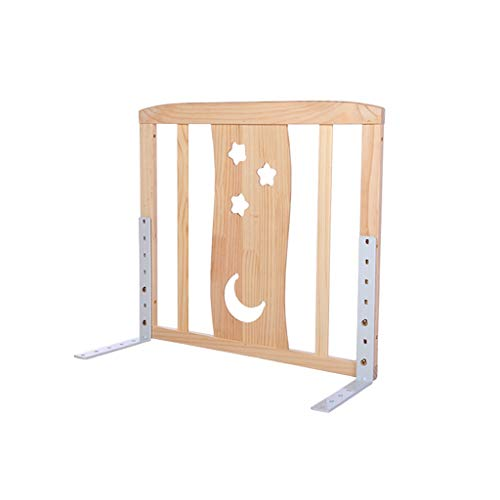Bedroom Bed Rail for kinderen, Houten Environmental Protection Bed Rail for eenpersoonsbed Hotel Apartment Veiligheid van de peuter Bed Rail (Size : 60CM)