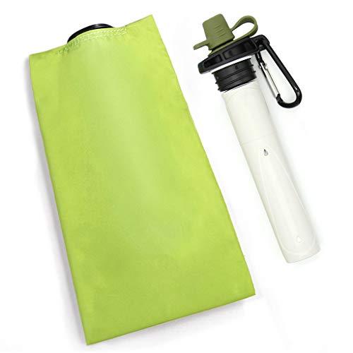 Oikupe Outdoor Folding Water Purifier Draagbare Folding Pe Water Bag Verwijderbare Filter 0.1 Micron 0.7 Liter Reizen
