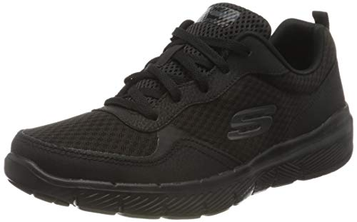Skechers 52954-bbk, Calzado Deportivo Hombre, Negro, 45 EU