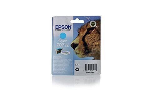 Ink cartridge Original Epson 1x Cyan C13T07124010 / T0712 for Epson Stylus DX 4050