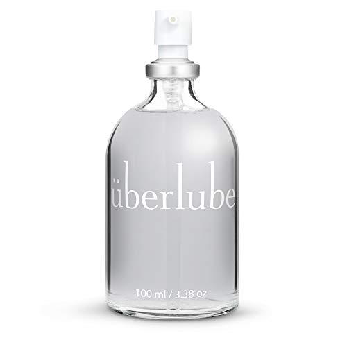 Überlube Premium Gleitgel | Natürliches Silikon Gleitgel mit Vitamin E- Latexkondomsicher| Geruchs-und geschmacksneutral, rückstandsfrei, funktioniert auch unter Wasser! - 100ml