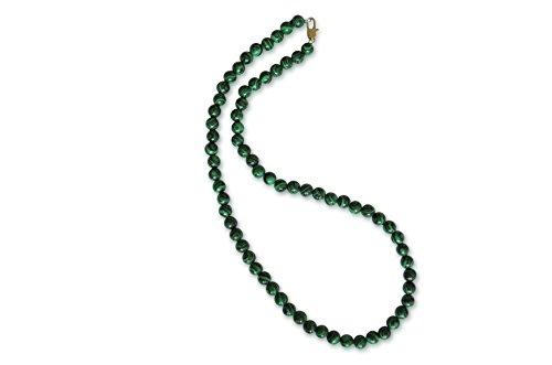 Vifaleno Malachit Halskette, rund, 6mm