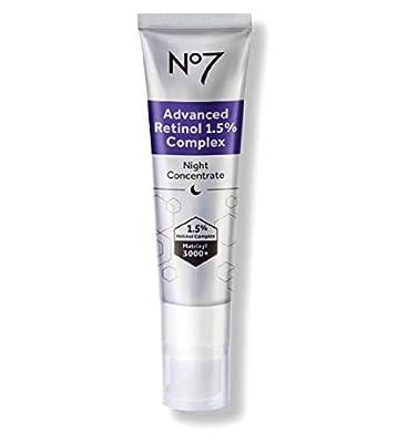 No7 Advanced Retinol 1.5% Complex Night Concentrate Skin Transforming Accelerator 30ml
