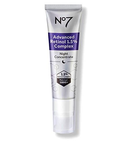 No7 Advanced Retinol 1.5% Complex Night Concentrate Skin Transforming...