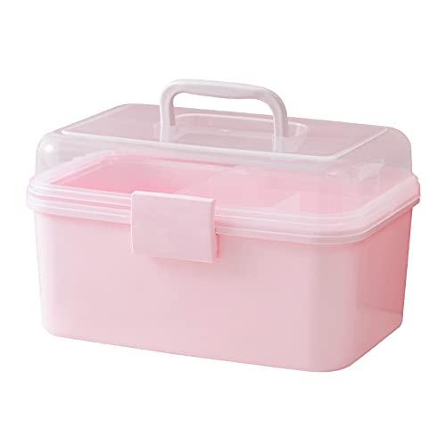 Caja de almacenamiento de accesorios para el cabello de bebé, con cabeza de princesa, para el pelo, caja de embalaje para niña, caja de joyería, rosa, A