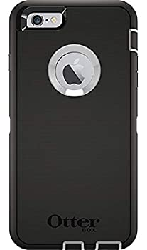 Rugged Protection OtterBox Defender Case for iPhone 6 Plus/6S Plus  ONLY  - Bulk Packaging - Black/White