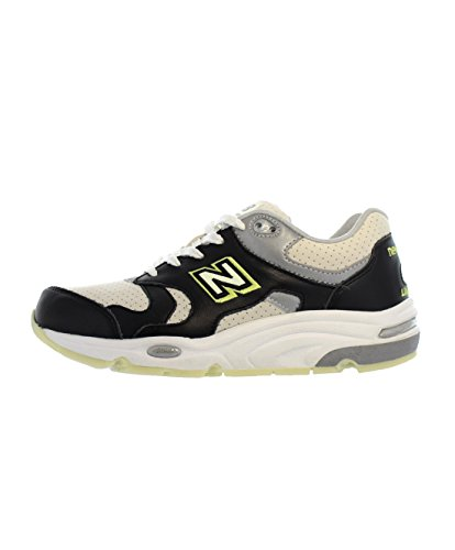 New Balance Men's X Barneys New York White/Black/Green (Glow) CM1700WG (Size: 12)