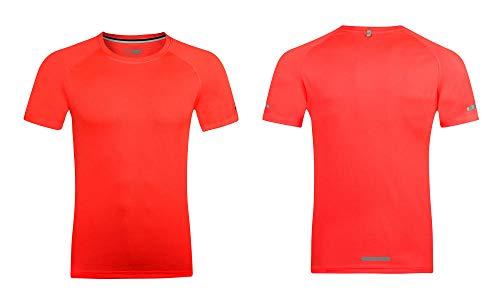 B/H Camiseta Hombre Deportiva Compresiónv,Camiseta Deportiva para Correr Transpirable y Absorbente de sudor-P1-7_XL