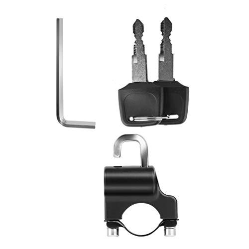 Abaodam Piezas de repuesto de los accesorios de la bici del camino de la cerradura de seguridad antirrobo