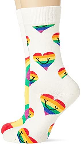 Happy Socks Damen Pride Geschenkset Socken, mehrfarbig, 3–7 (Größe 36–40)