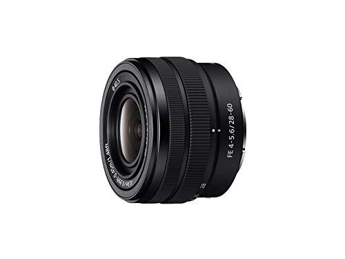 Sony SEL-2860 Standard-Zoom Objektiv (28-60 mm, F4–5.6, Vollformat, geeignet für A9, A7, A6000, A5100, A5000 und Nex Serien, E-Mount) schwarz