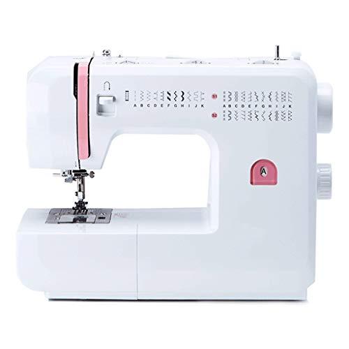 RKY Máquina de Coser, Máquina de Coser de múltiples Funciones del hogar, de Escritorio pequeño máquina de Coser con 32 Puntadas / - / (Size : 36x17x30cm)