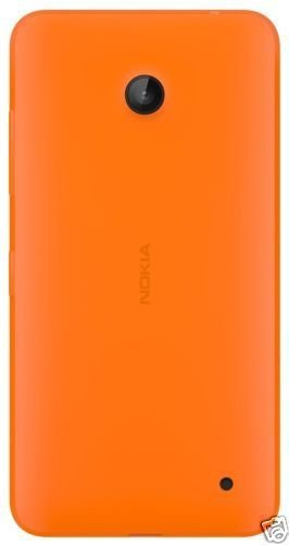 Bright Replacement Back Door Cover Panel Compatible for Nokia Lumia 630 -Orange