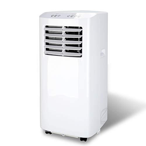 BMOT Mobiles Klimagerät, 3 in 1 Klimaanlage 7000 BTU/h mit 3 Funktionen – Kühlen, Lüften, Entfeuchten,inkl. Abluftschlauch und Fensterdichtung, R290, für Räume bis 30㎡ [Energieklasse A]
