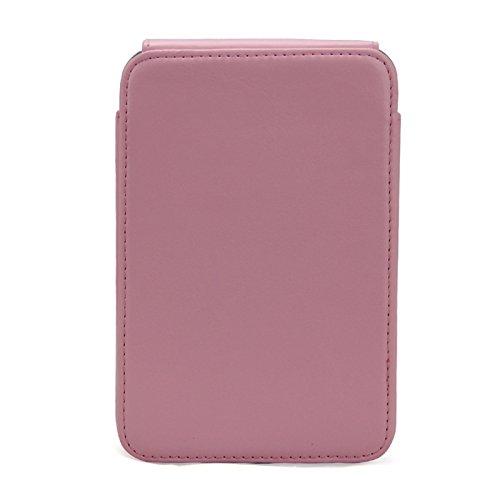 CLOVER Vintga - Funda de piel sintética para LG Hiti Pringo P231 con bolsillo para impresora...