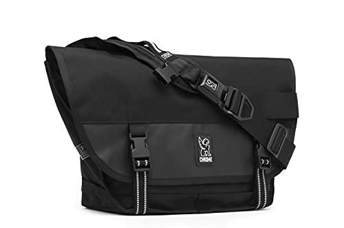 Chrome Industries Mini Metro Messenger Bag - 13 Inch Laptop Satchel with Signature Belt Buckle...