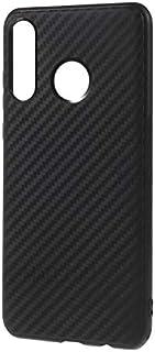 Huawei P30 Lite Case Cover Carbon Fiber Shock Proof TPU Back case Cover for Huawei P30 Lite – Black by Nice.Store.UAE
