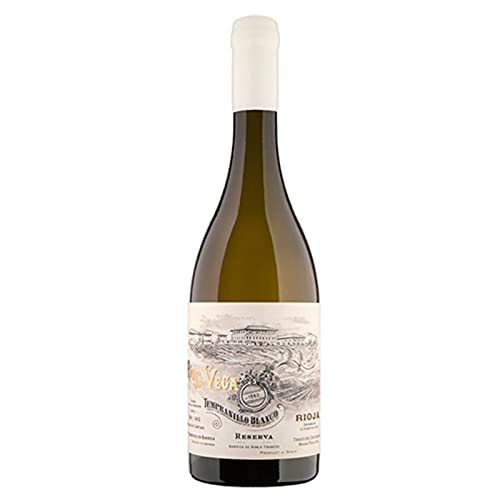 Vino blanco Vega Tempranillo de 75 cl - D.O. La Rioja - Bodegas Rioja Vega (Pack de 1 botella)