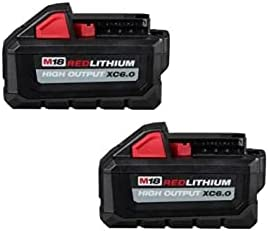 Milwaukee 48-11-1862 M18 Lithium-Ion High Max 62% OFF Some reservation Output Battery P 6.0Ah