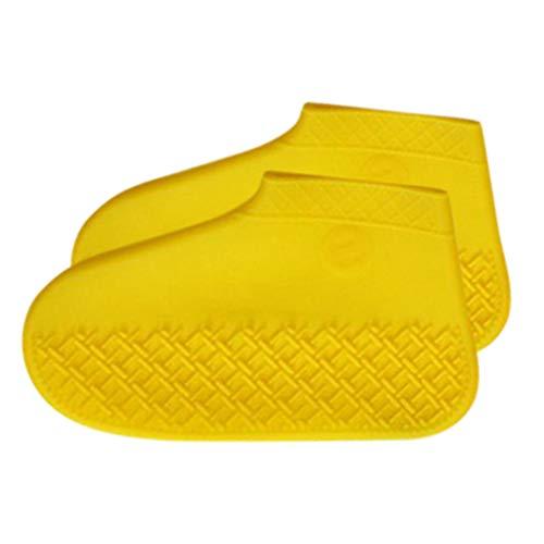 Cuteelf Silikon-Wasserdichte Überschuhe, multifunktionale Silikon-Überschuhe, Rutschfeste Überschuhe im Freien, waschbar, wiederverwendbar