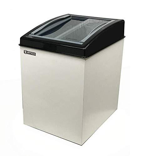 Freezer Horizontal FH150B Branco e Borda Preta Ártico 110V - 120 litros
