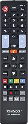 SCHWAIGER -5699- Ersatzfernbedienung/Universal-Fernbedienung/Remote Control/TV-Fernbedienung für alle Samsung TV-Geräte/TV Universal Fernbedienung