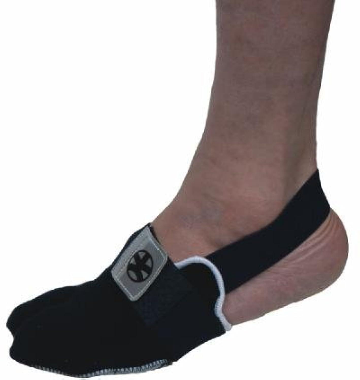 立派な一致高さたび型サポーター(底:革製) 左足用