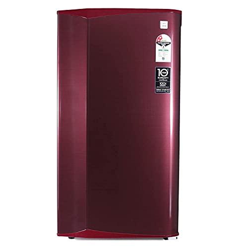 Godrej 181 L 2 Star Direct-Cool Single Door Refrigerator (RD AXIS 196B 23 WRF ST WN, Steel Wine, Wired Shelves)