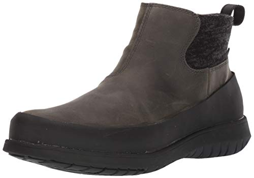 BOGS Women's Freedom Ankle Waterproof Insulated Winter Snow Boot, Gray, 7.5 M US